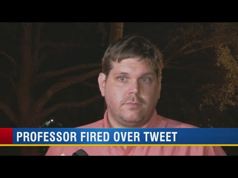 Fired University of Tampa professor apologizes for tweet calling Harvey 'karma' for GOP voters