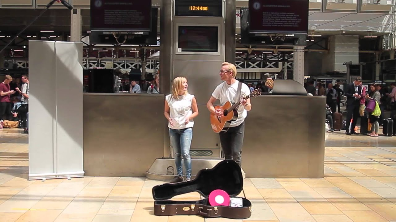 Surprise Wedding Proposal at Paddington Train Station London