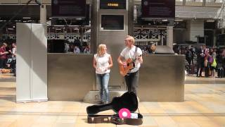 Surprise Wedding Proposal at Paddington Train Station London