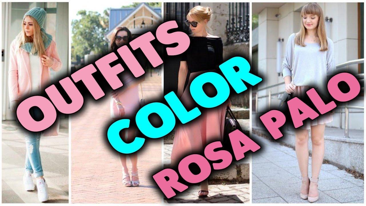 Lleva El Rosa En Tus Outfits Como Combinar El Color Rosa Palo Youtube