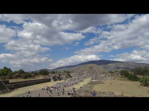 Timelapse Teotihuacan Mexico