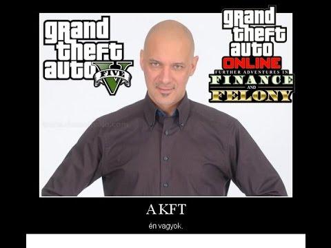 GTA V Finance and Felony | A Kft. én vagyok!!