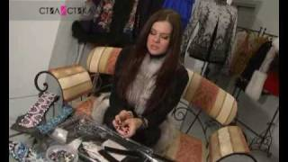 Olga Rusan. Вышитый браслет своими руками