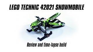 Lego Technic 42021 Snowmobile Build & Review