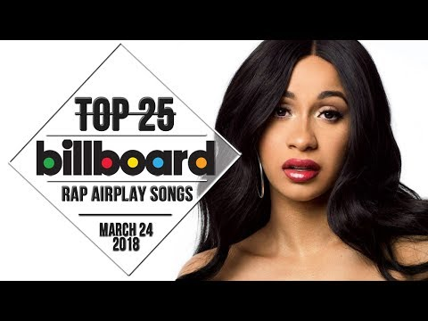 Top 25 • Billboard Rap Songs • March 24, 2018 | Airplay-Charts