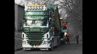 Scania V8 Asphalt Truck