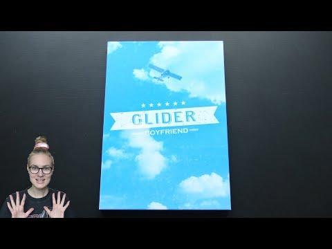 Unboxing Boyfriend 7th Japanese Single Album GLIDER [Limited (CD+DVD) Edition]