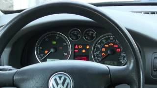 How to program your mk4 VW key immobilizer