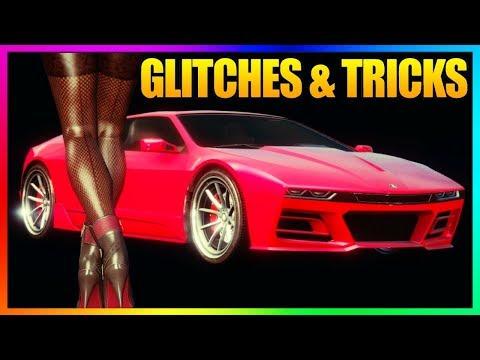 GTA 5 Online - SOLO GLITCHES & TRICKS! (Secret Casino Wallbreach, Off-Radar Glitch, Launch Glitch)