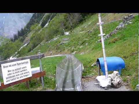 Summer Toboggan, Grindelwald - YouTube