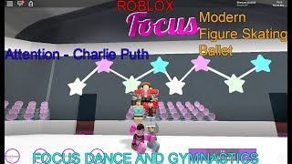 Roblox- Focus Dance and Gymnastics- Attention- Charlie Puth