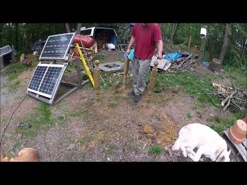 Pt 1 Building A Solar Panel Pivot Stand