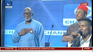 Anambra Governorship Debate Pt 1