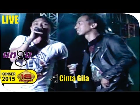 Live Konser ~ Ungu Ft. Pas Band - Cinta Gila @SUBANG 2015