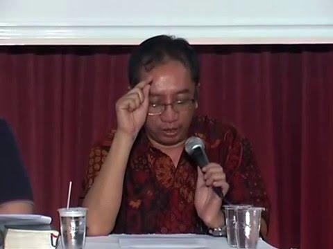DR Bambang Noorsena - Membandingkan 20 Sifat Allah dalam  Ilmu Kalam dan Trinitas
