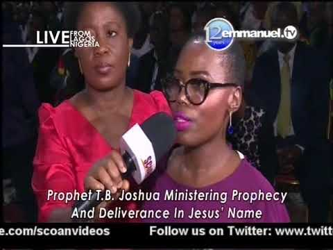 Scoan Sunday LIVE Service With Prophet TB Joshua At Scoan Lagos Nigeria; (Mass Prayer) 18/03/2018