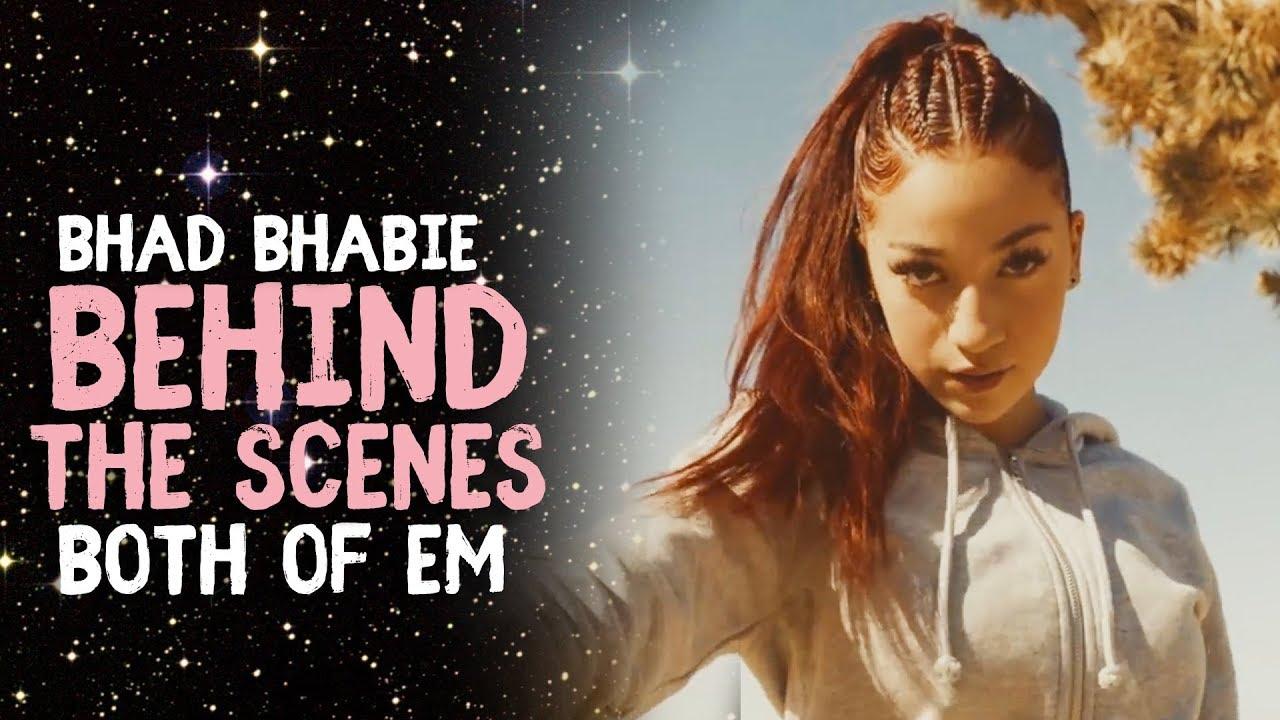 "Bhad Bhabie ""Both Of Em"" BTS Music Video | Danielle Bregoli"