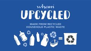 How it's made - Wham Upcycled Box - Made from recycled single-use plastic