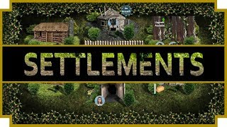 Settlements - (Stone to Space Age - Colony Management Game)