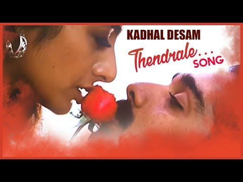 AR Rahman Hit Songs | Thendrale Video Song | Kadhal Desam Tamil Movie | Vineeth | Tabu | Abbas