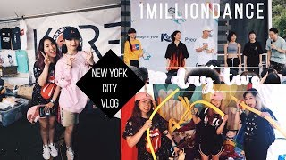 Video 💙 NYC DAY TWO 💙 KCON NY 2017, 1Million Dance, Meeting Sori Na! download MP3, 3GP, MP4, WEBM, AVI, FLV Desember 2017