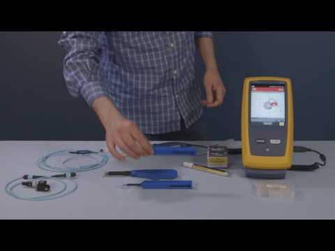 Click Cleaners - Fiber Optic Cleaning Kits by Fluke Networks