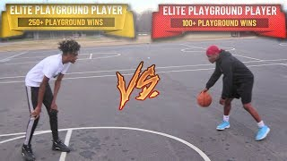 1V1 AGAINST IRL DRIBBLE GOD🏀 JAY VS ERIC😳 ( BATTLE OF THE YOUTUBERS)
