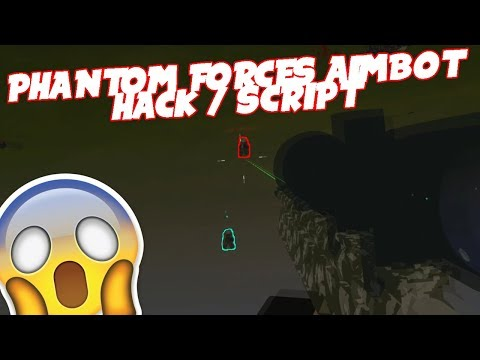 Roblox Exploiting #25 - PHANTOM FORCES AIMBOT HACKS!