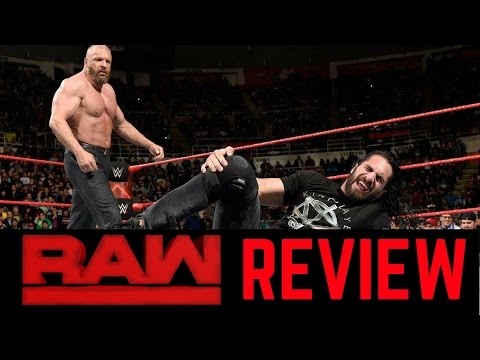 WWE Raw 3/13/2017 Review | The Cerebral Assassin Fends off The King Slayer!