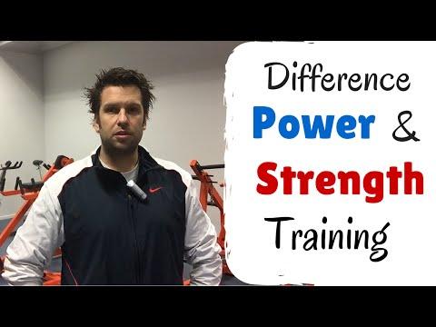 Power Training vs Strength Training:What's The Difference Between Strength Training & Power Training