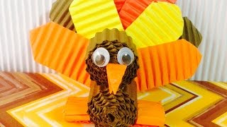 Make A Cute Turkey Decoration - Diy Crafts - Guidecentral