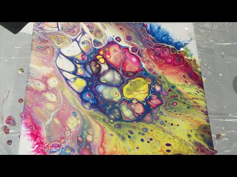 (12) Acrylic Pouring 101- Everything You Need to Know to Get Started...And Then Some!
