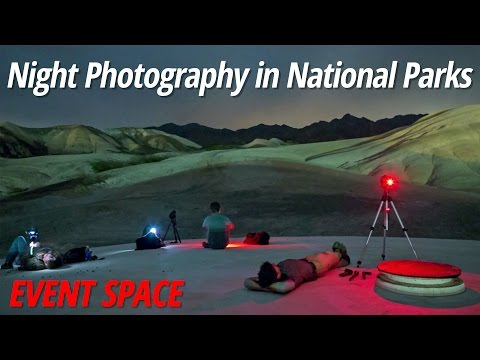 Night Photography in National Parks