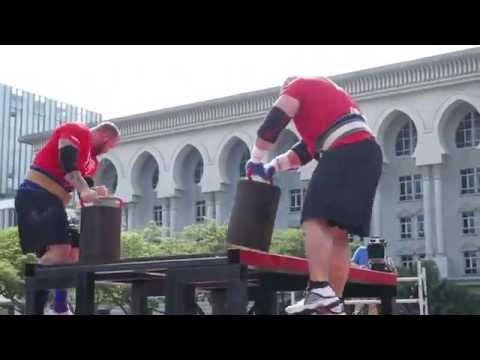 World's Strongest Man 2015 Final Day 2 - Power Stairs [Ultra HD 4K]