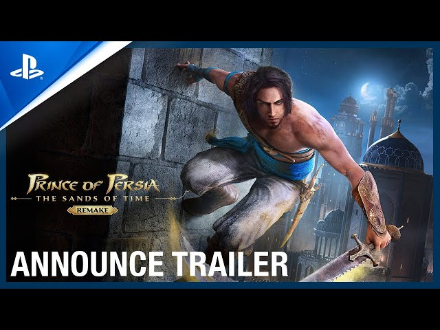 Prince of Persia: The Sands of Time Remake - Official Trailer | PS4