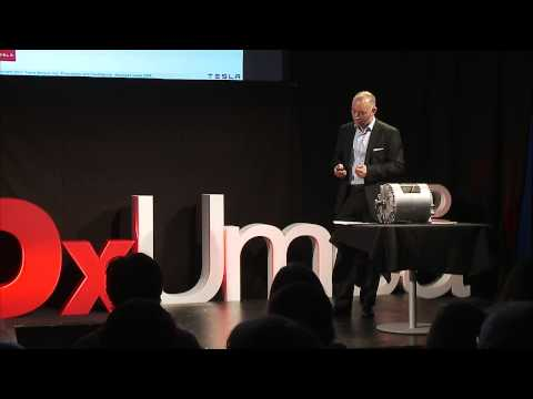 Why electricity is the answer to transportation sustainability | Peter Bardenfleth-Hansen | TEDxUmeå