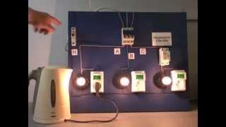 видео Устройство защиты нагрузки при скачках напряжения в сети