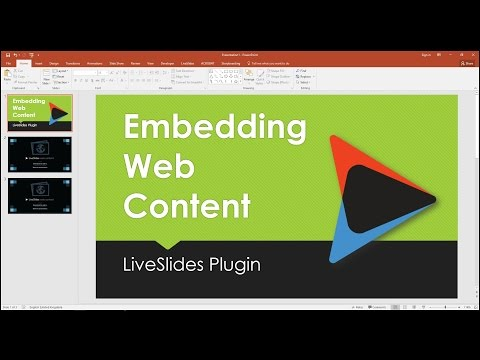 How To Embed Web Content Into PowerPoint
