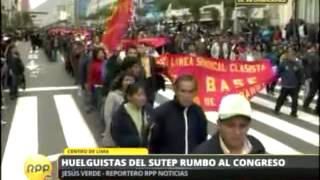 rpp tv en vivo huelga nacional indefinida