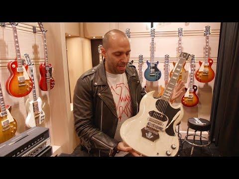Mark Agnesi Tours Gibson Custom Shop At NAMM 2019