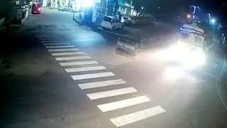 Ghost capture in CCTV near talpukur petrol pump barrackpore