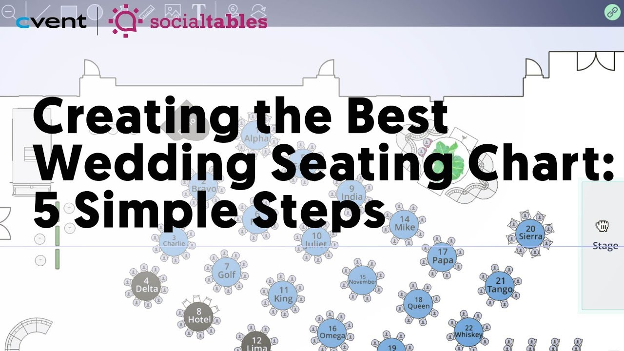 How To Create A Seating Chart For A Wedding 15 Simple Steps