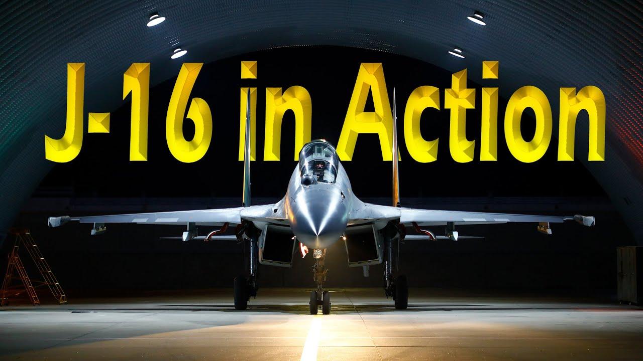 J-16 Multirole Fighter Jet China | J16 in Action 2020 | Shenyang J-16 - Chinese Jet |IDA Productions - YouTube