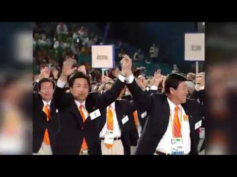 Olympic moments when North and South Korea have marched together
