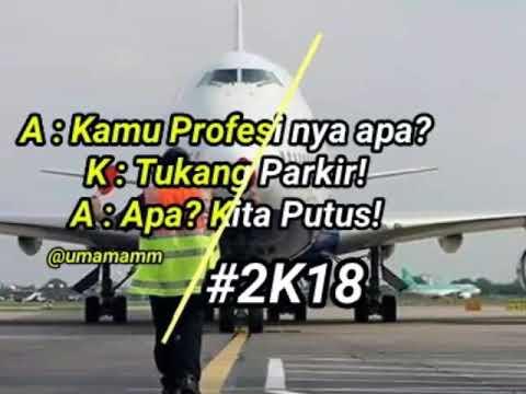 Story WA Tukang Parkir (Agung Pradanta Ft. Ayu Paramita)