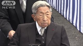 東京都内の病院に入院していた昭和天皇の弟・三笠宮さまが27日朝、心不...