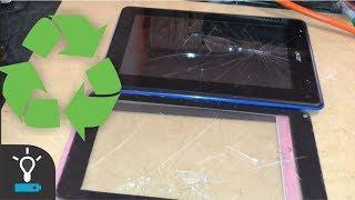Reciclando Cristal Touch de Tablet