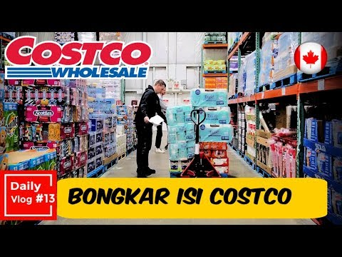 Daily Vlog #13 |  What's In Costco Canada ?