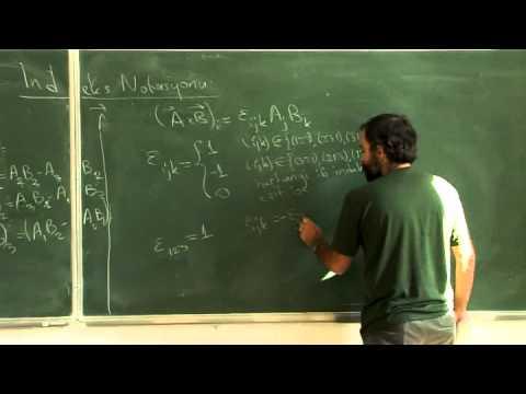 Lecture 01 - Klasik Elektrodinamik - W01L01