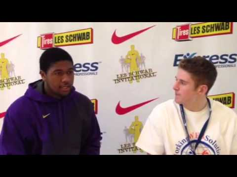 Kris Jenkins Les Schwab Invitational Post Game Interview